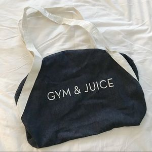 Private Party | Gym & Juice, Gym Bag